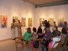 Exposición Serie FaroLuz en el Ateneo Municipal de Santa Lucía ( Gran Canaria) 2012