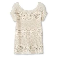 Female Pullover Sweaters Cherokee M (7-8) CRM