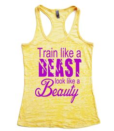 Train Like A Beast / Look Like A Beauty // Train by Built2InspireU, $22.00