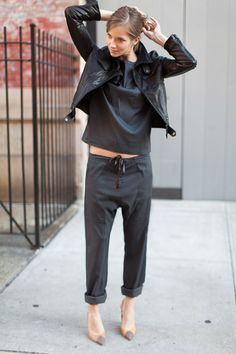 Slouch Pant - Slate | Emerson Fry