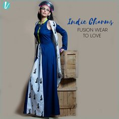 Indie Charms - Fusion Wear To Love Now On Vilara : Shop here : http://www.vilara.com/women/apparel  #indie #fusionwear #love #shopnow
