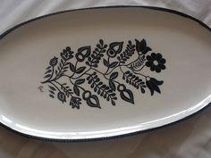 Ceramic painted platter