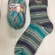 Opal 4ply Sock Yarn 100g -Colours in Love range - Passionate Hug