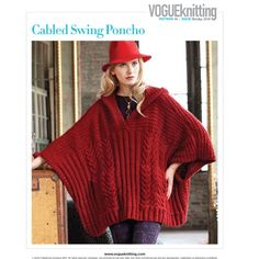 Ravelry: Cabled Swing Poncho pattern by Michele Wang - ultra-warm and fashionable poncho with a variety of stitch textures and cables. Knit in Zealana Tui (merino, possum and cashmere blend yarn) Knit Shrug, Knitted Cape, Knit Or Crochet, Knitted Shawls, Vogue Knitting, Knitting Yarn, Brooklyn Tweed, Poncho Knitting Patterns, Bolero