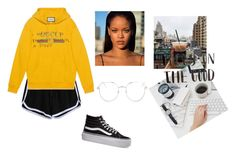 """Sin título #163"" by mariamsilva ❤ liked on Polyvore featuring Gucci, Vans and Topshop"