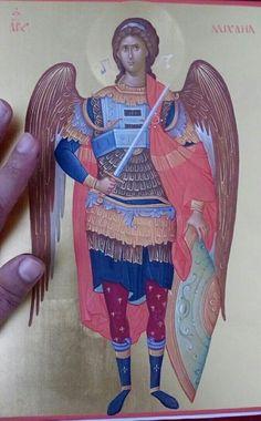 Religious Icons, Religious Art, Order Of Angels, Orthodox Christianity, Archangel Michael, Art Icon, Byzantine, Catholic, Princess Zelda