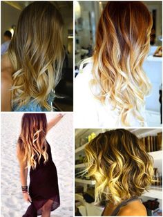 ombre hair highlights