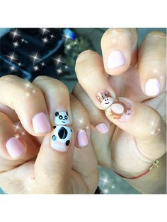 Nail Art - Baby animals - 28 Instagram Nail-Art Ideas That Will Make You Smile   allure.com