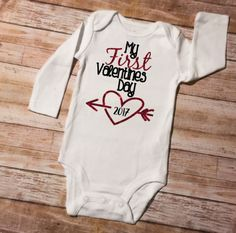 The 7 Best Valentines Day Onesies By Uniqueinkboutique Images On