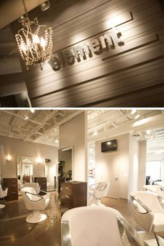 Find the best hair salons in your area! ELLE uncovers the top salons in the United States. Hair Salon Names, Best Hair Salon, Salon Interior Design, Beauty Salon Design, Spa Interior, Home Salon, Salon Style, Hair Studio, Cool Hairstyles