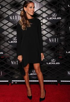 Sarah Jessica Parker con total black look