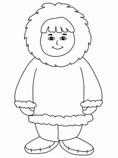 Eskimo Coloring Pages | Printable Coloring Pages