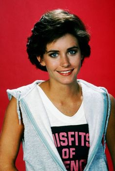 Misfits of Science Courteney Cox, 1985