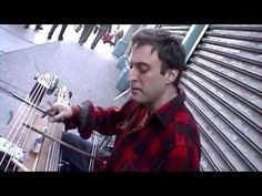 Bradford Reed and his pencilina in SOHO-----new york videodyssey(225) - YouTube