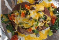 Tex Mex Stuffed Sweet Potato
