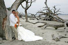 Driftwood Beach Wedding Jekyll Island, GA. www.jekyllclub.com