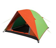 Leeminus Outdoor Proofwater 34 Person Tent GreenOrange * Check out this great article. #CampingTents