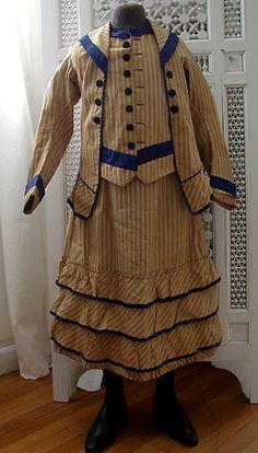 Circa 1870-1880's, Lovely Child's Dress