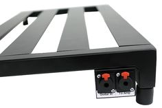 2-port panel for mounting to the side of your Pedaltrain board!Our interface panels for Pedaltrain boards allow you to have all of your connections in one place, making for a much easier setup and tear down. It allows you to have all locking connections and reduce stress on your pedal jacks.The 2...
