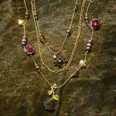 Spotted while shopping on Poshmark: Betsey dark forrest necklace! #poshmark #fashion #shopping #style #Betsey Johnson #Jewelry