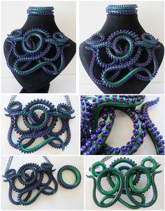 Incredible tentacle jewelry!