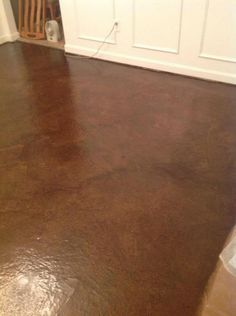 Gray Stain Polished Concrete And Concrete Floors On Pinterest