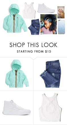 """Untitled #55"" by fashionnmia on Polyvore featuring K-Way, Essie, Vans and Hollister Co."