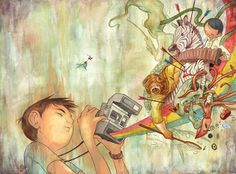 What Develops Illustration by Julian Callos