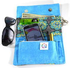 Women's Wallet, Female Wallets, Trifold Wallets, Ladies Wallet, Fabric Wallet, Wristlet Wallet, Clutch Wallets, Stylish Wallets - pinned by pin4etsy.com   #wallets #etsy #handmade  #girls #womens #ladies #bag