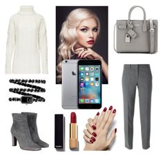 A fashion look from February 2016 featuring wool turtleneck sweater, grey trousers and grey bootie. Browse and shop related looks. Fashion Women, Women's Fashion, Grey Booties, Grey Trousers, Polyvore Fashion, Yves Saint Laurent, Women's Clothing, Turtle Neck, Chanel