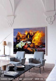Henna, Original Paintings, The Originals, Chair, Prints, Furniture, Home Decor, Art, Art Background