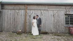 Jenny Packham's Betty for a Peach, Pink and Woodland Inspired Wedding