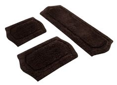 Paradise 3 Piece Memory Foam Bath Rug Set