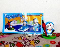 figurine maxi kinder surprise Doraemon , mon frère a eu par moi le 23/04/17*
