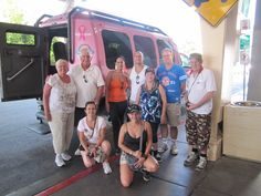 Family reunion with Pink Jeep Tours!