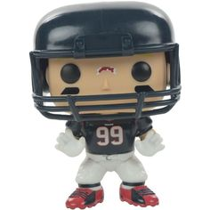 Funko Jj Watt Houston Texans Figure ($20) ❤ liked on Polyvore featuring home, home decor, navy, navy blue home decor, vinyl figure and navy home decor