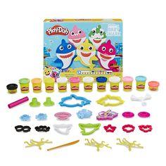 Play Doh Tools, Play Doh Baby, Shark Plush, Shark Family, Birthday Board, 4th Birthday, Christmas Stocking Stuffers, Christmas Gifts, Baby Shark