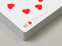Playing card calendar – Mytton Williams