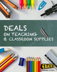 Save on classroom and teacher supplies with Back to School savings. Shop with classroom supply coupons, deals and Cash Back at Ebates.