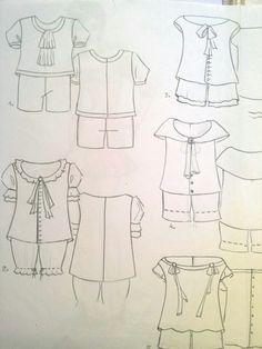 Diseños planos para niños