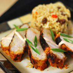 Nibble Me This: Bahamian Grilled Chicken Bahamian Food, Caribbean Recipes, Caribbean Food, Good Food, Yummy Food, Grilled Chicken, Grilled Food, Island Food, Recipe Mix
