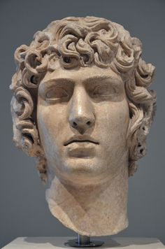 Antinous, from Hadrian's Villa, late Hadrianic period AD, Palazzo Massimo alle Terme, Rome Roman Sculpture, Art Sculpture, Sculptures, Sculpture Portrait, Ancient Rome, Ancient Art, Ancient History, Rome Antique, Art Antique
