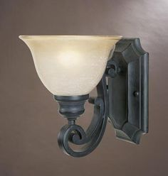 View the Designers Fountain 96101 Single Light Up Lighting Wall Sconce from the Barcelona Collection at LightingDirect.com.