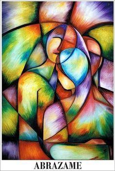 hug me - Painting Oil Pastel Art, Hippie Art, Arte Pop, Art Plastique, Mandala Art, Fractal Art, Art Techniques, Figurative Art, Love Art