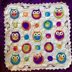 Owl Obsession baby blanket pattern review