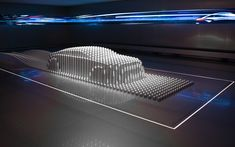 The Hyundai Motorstudio takes visitors on an interactive journey of discovery. ATELIER BRÜCKNER has designed the parcours. Interactive Installation, Installation Art, Museum Lighting, New Media Art, Painting Tools, Studio, Art Cars, Discovery, Cool Designs