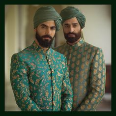 104 best Sabyasachi Sherwani photos by Sherwani For Men Wedding, Wedding Dresses Men Indian, Sherwani Groom, Indian Wedding Wear, Wedding Men, Punjabi Wedding, Tuxedos, Indian Weddings, Farm Wedding