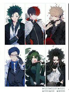 My edgy academia & Manga Boku No Hero Academia Funny, My Hero Academia Shouto, My Hero Academia Episodes, Hero Academia Characters, Anime Villians, Fanarts Anime, Anime Films, Cute Anime Character, Character Art
