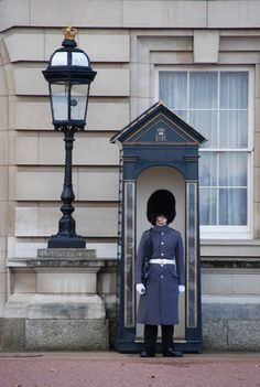 Palace Guard, Buckingham Palace, London