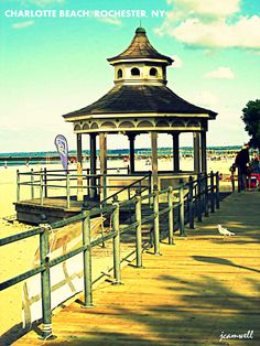 Charlotte Beach / Ontario Beach, Rochester NY ( my hubby n I went here on out first date!)
